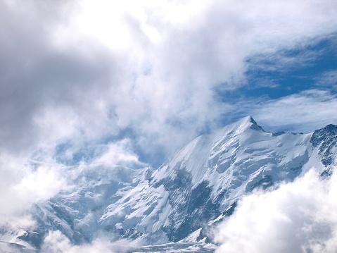 istock Mont-Blanc/Col de Voza,France 1003915876