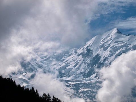 istock Mont-Blanc/Col de Voza,France 1003917962
