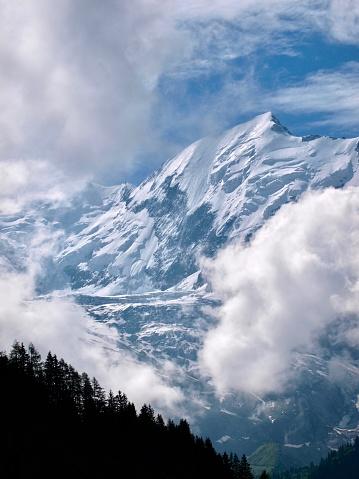 istock Mont-Blanc/Col de Voza,France 1003918206