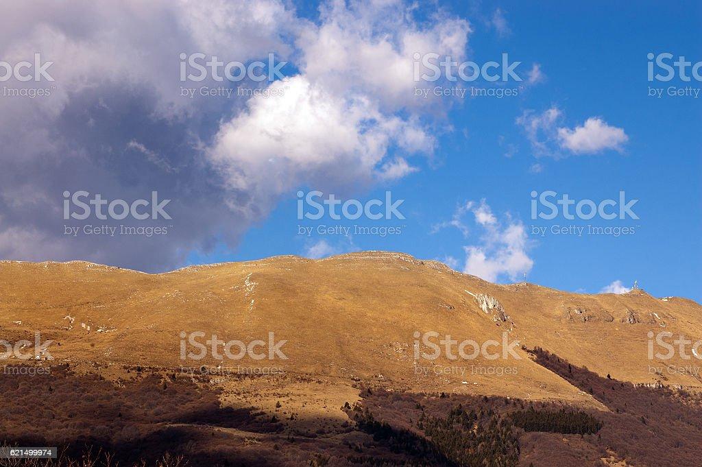 Monte Baldo in Autumn - Italian Alps photo libre de droits