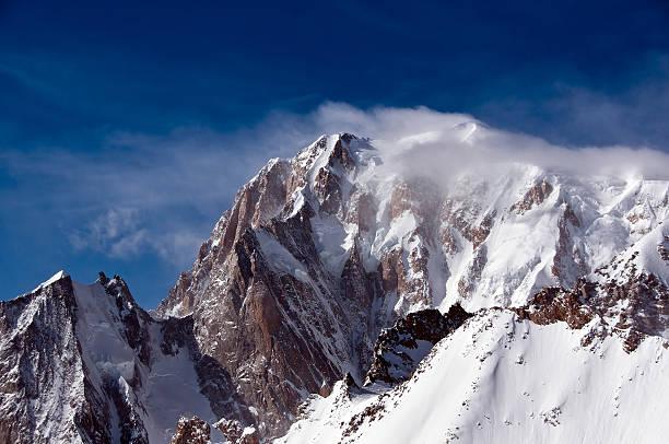 Monte Bianco stock photo