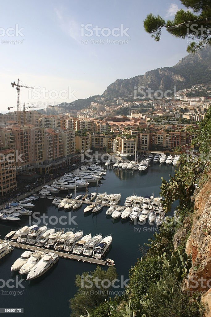 Monte Carlo Bay royalty-free stock photo