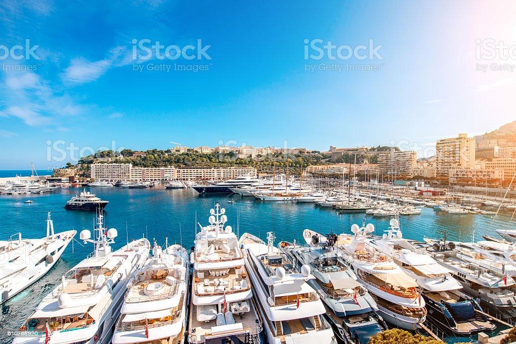 Monte Carlo in Monaco stock photo