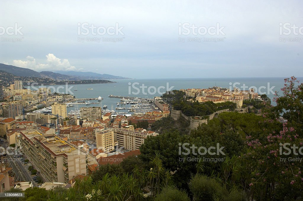monte carlo landscape royalty-free stock photo
