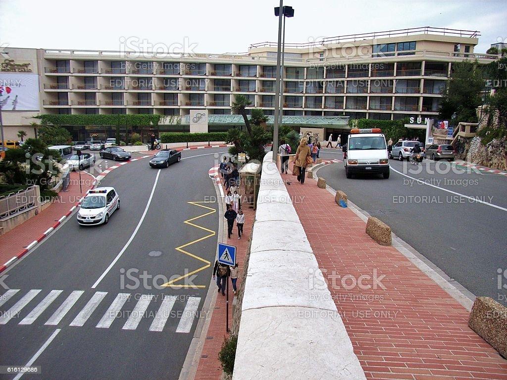 Circuito Monaco : Monte carlo tornante del circuito stock photo more pictures of