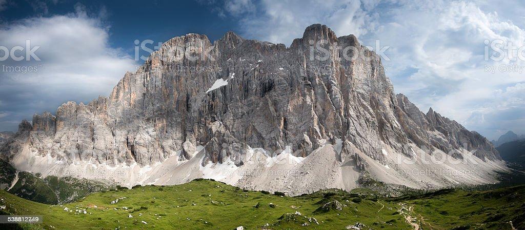 Monte Civetta Dolomites stock photo