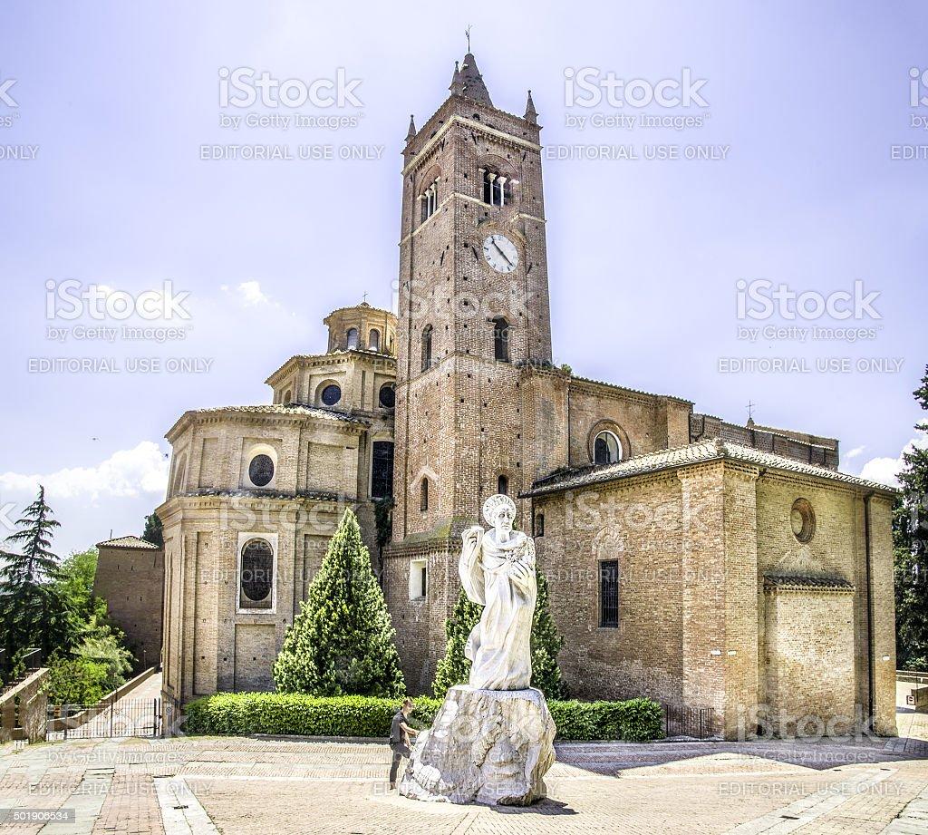 Monte Oliveto Maggiore - Asciano - Siena - tuscany stock photo