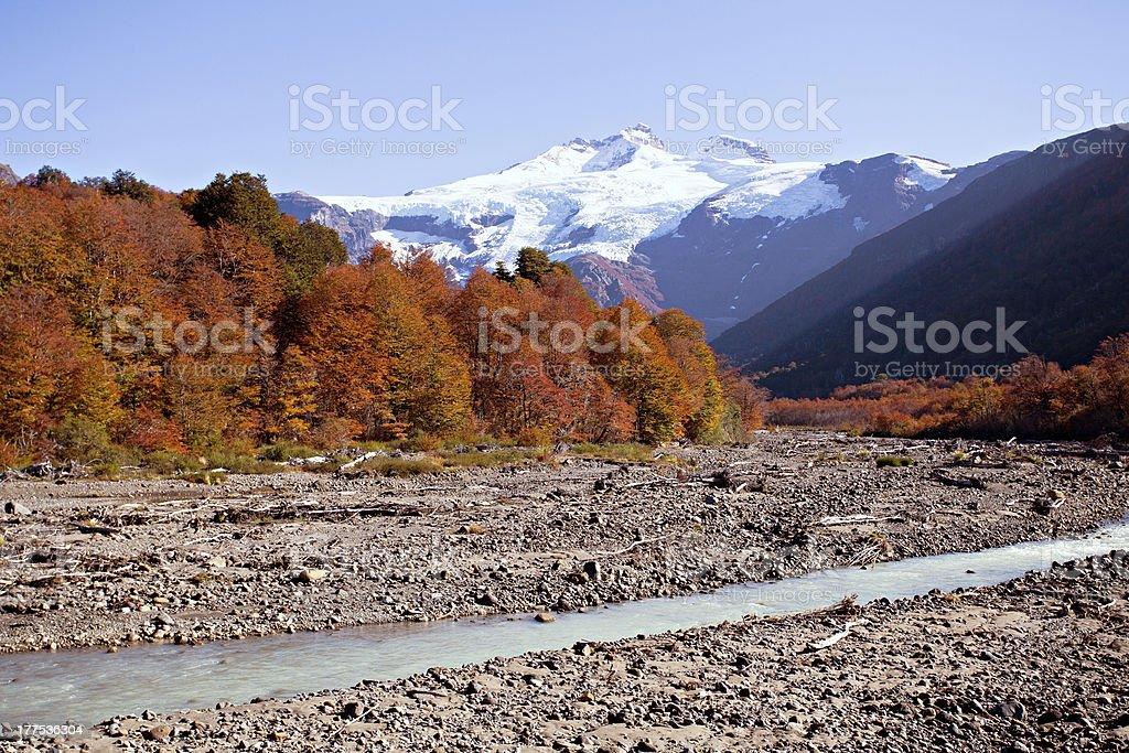 Monte Tronador, Argentina royalty-free stock photo