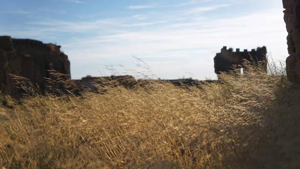 Montearagon Castle 1 stock photo