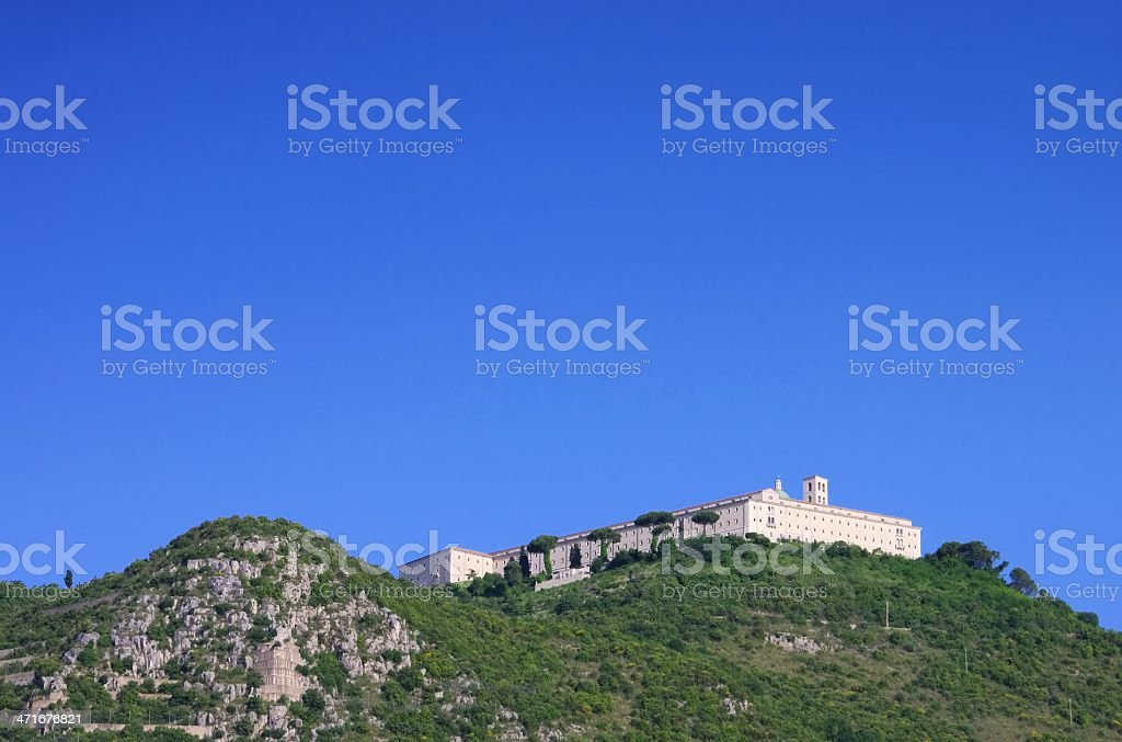 Montecassino royalty-free stock photo