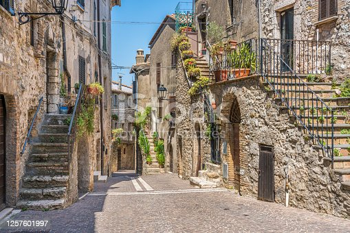 istock Montecchio, beautiful village in the Province of Terni, Umbria, Italy. 1257601997