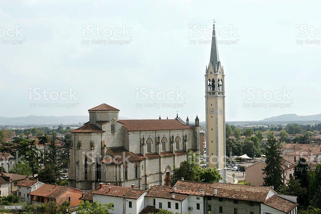 Montecchio Maggiore stock photo