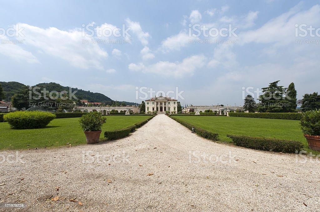 Montecchio Maggiore (Vicenza, Veneto, Italy) - Villa Cordellina Lombardi stock photo