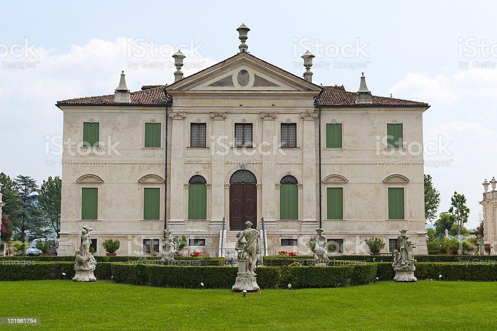 Montecchio Maggiore (Vicenza, Veneto, Italy) - Villa Cordellina royalty-free stock photo