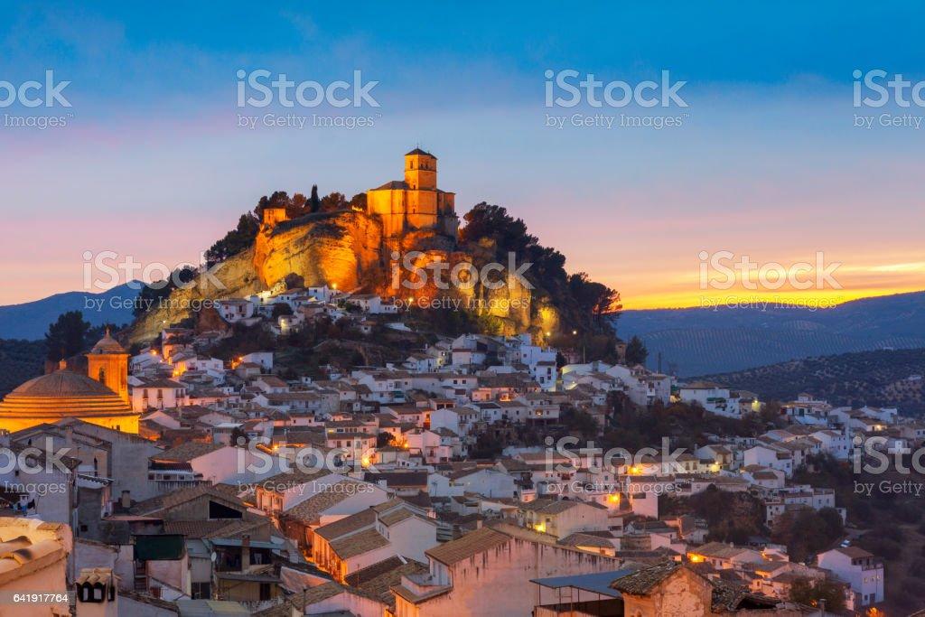Montefrio in Granada, Spain stock photo