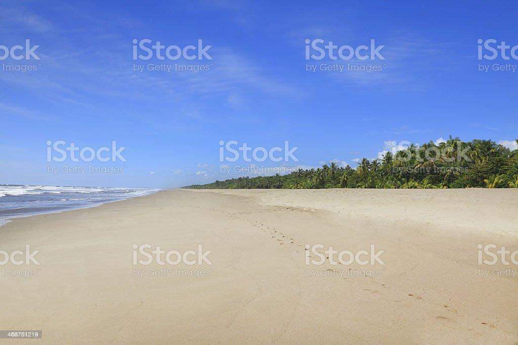 Montelimar beach stock photo