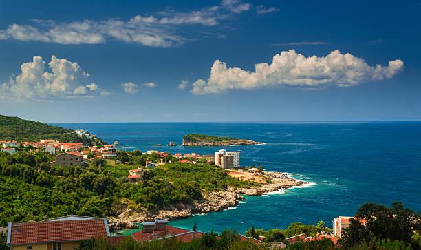 Czarnogóra, Adriatyckiego piękny krajobraz – zdjęcie