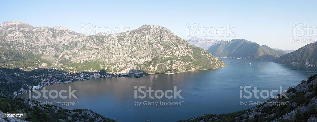 Montenegro bay of Kotor royalty-free stock photo