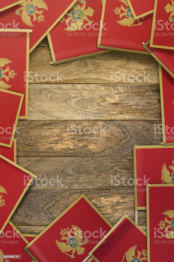 Montenegro Flagge Stock-Fotografie und mehr Bilder von Ansicht von ...