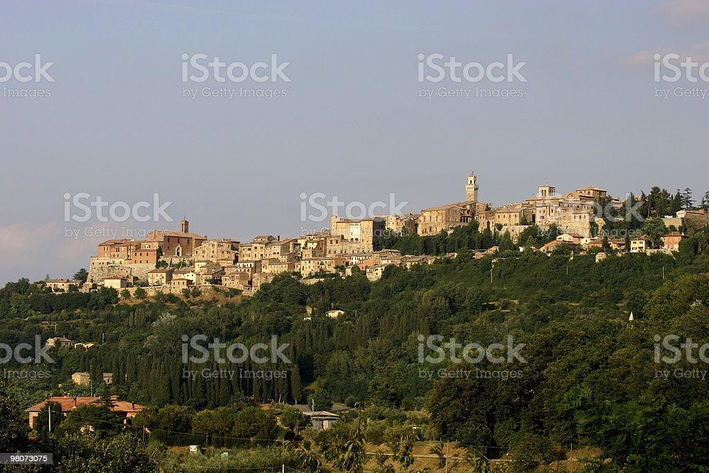 Montepulciano, Italy royalty-free stock photo