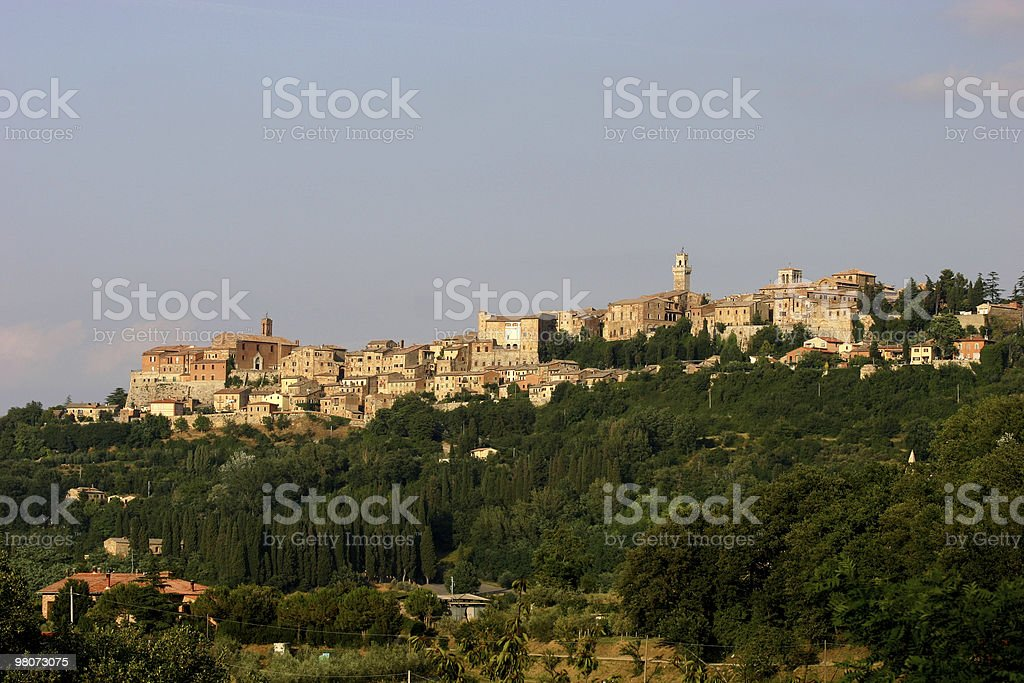 Montepulciano, Italia foto stock royalty-free