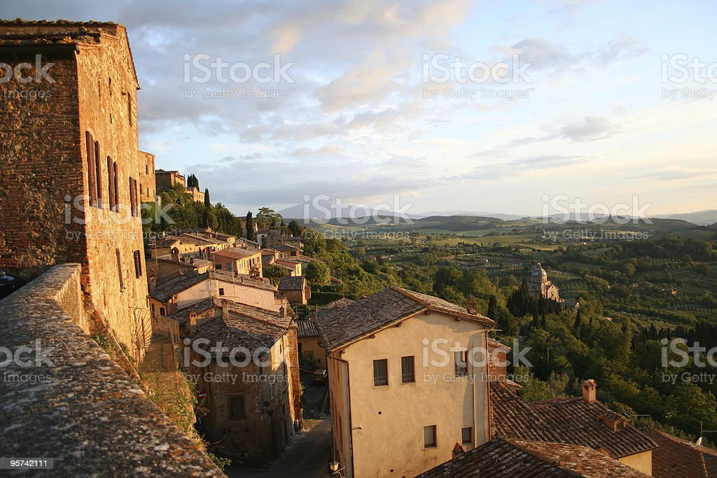 Montepulciano royalty-free stock photo