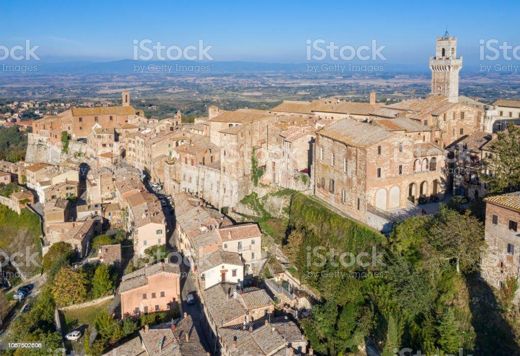 Montepulciano, Toskana, Italien – Foto