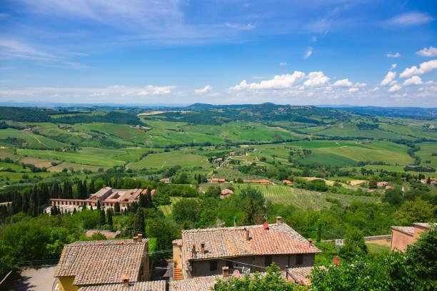 Montepulciano, Tuscany, Italy stock photo