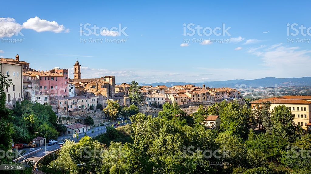 Montepulciano, Tuscany stock photo