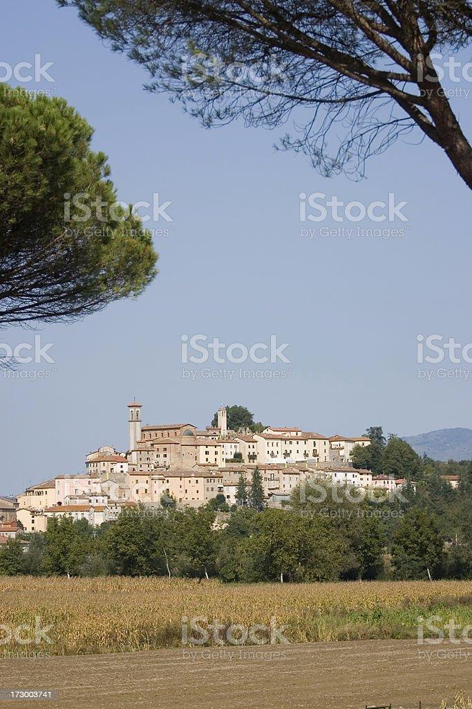 Monterchi Tuscany stock photo