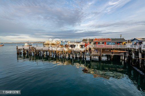 Photographing the historic sites of Monterey, California.