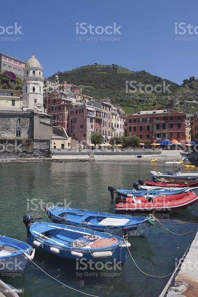 Monterosso, Cinqueterre - Liguria Italy stock photo