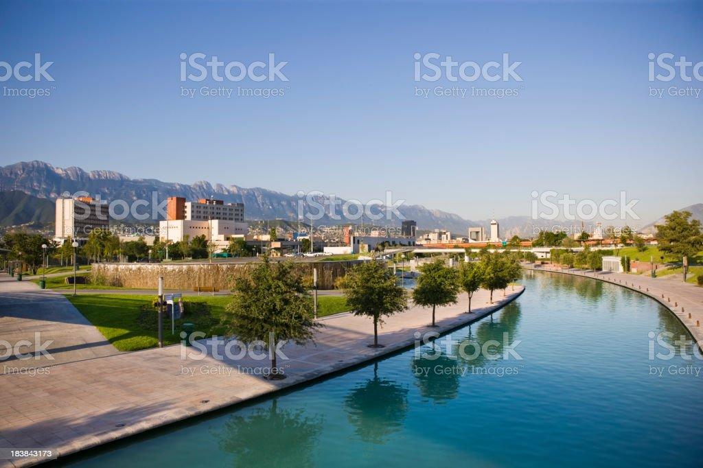 Monterrey City stock photo