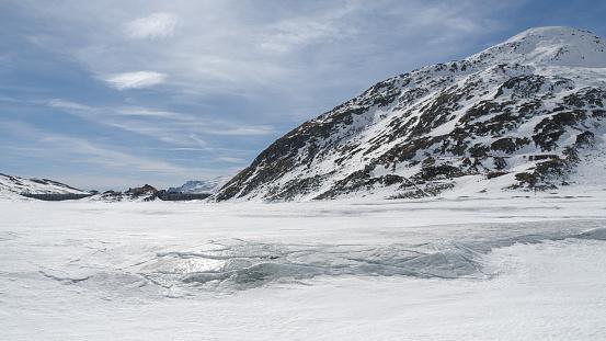 Montespluga Lake Sondrio Italy 169 — стоковые фотографии и другие картинки Без людей