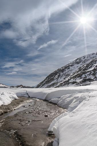 Montespluga Lake Sondrio Italy 23 — стоковые фотографии и другие картинки Без людей