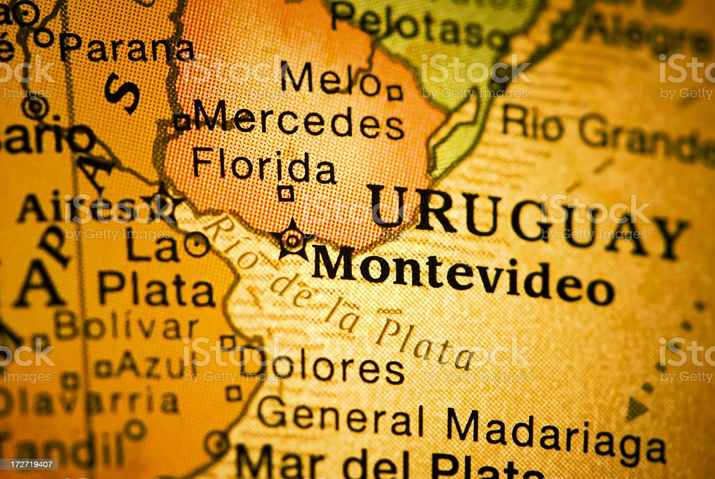 Montevideo royalty-free stock photo