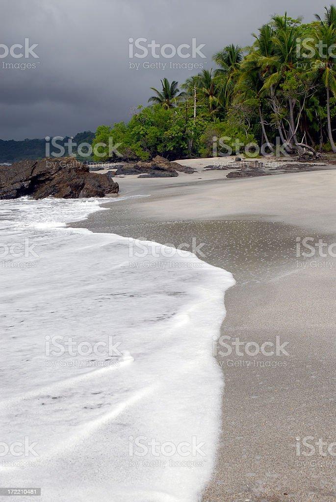 Montezuma Beach stock photo