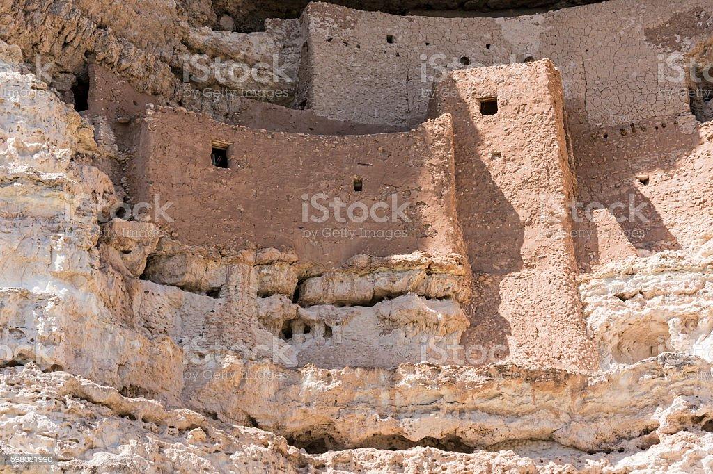 Montezuma Castle Closeup stock photo