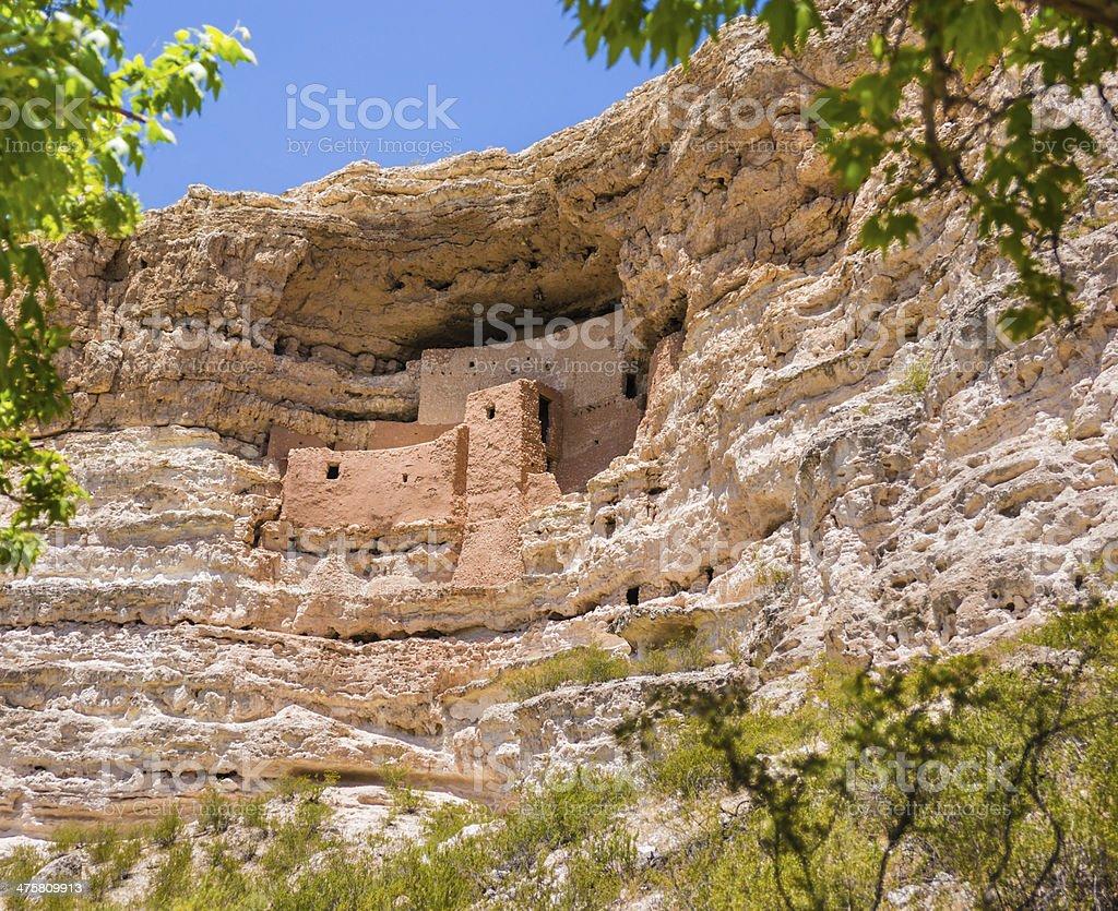 Montezuma Castle National Monument in Arizona, USA stock photo