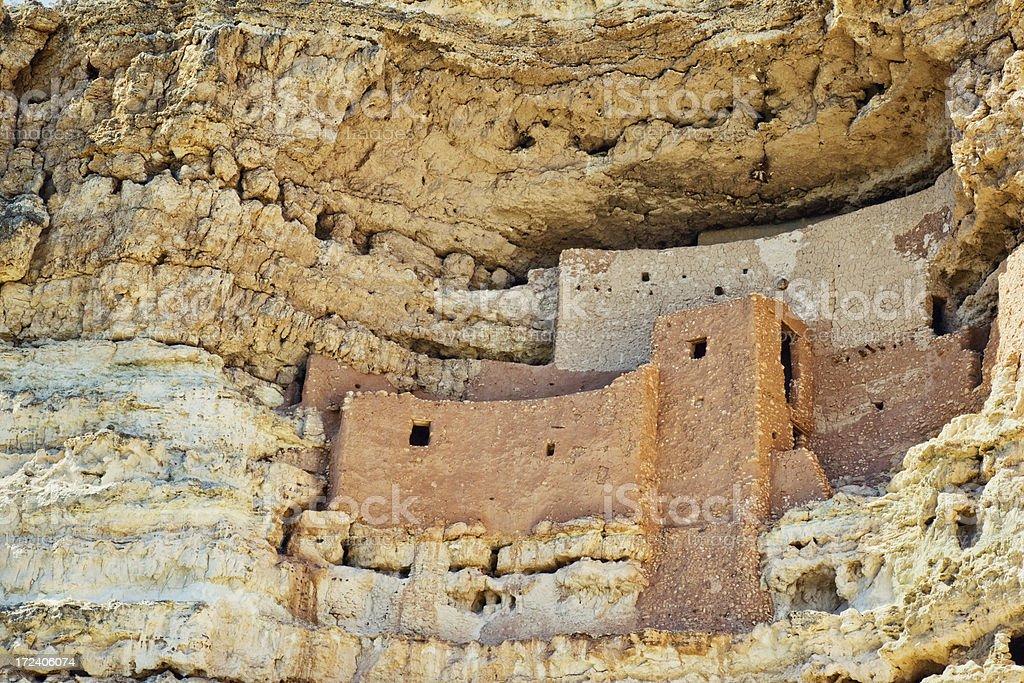 Montezuma Castle National Monument stock photo