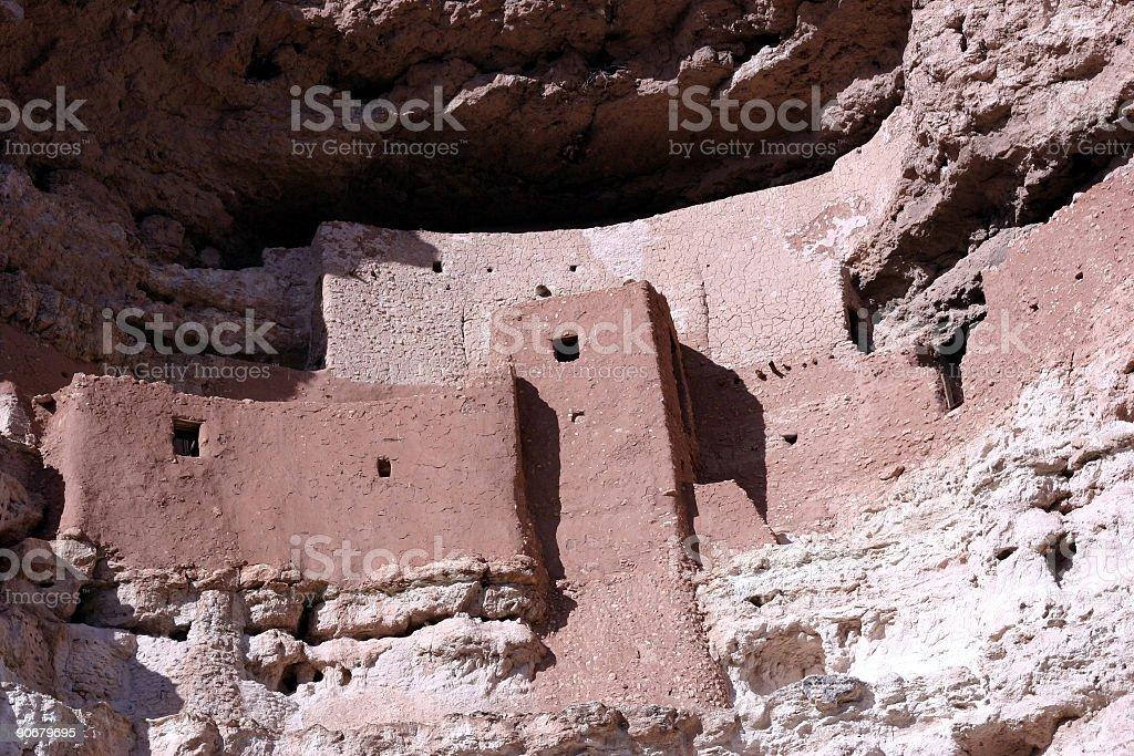 Montezuma Castle National Monument royalty-free stock photo