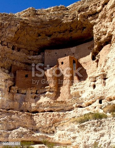 Montezuma Castle National Monument found in Arizona