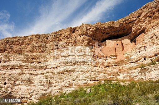 Montezuma Castle Ancient Indian Ruins.