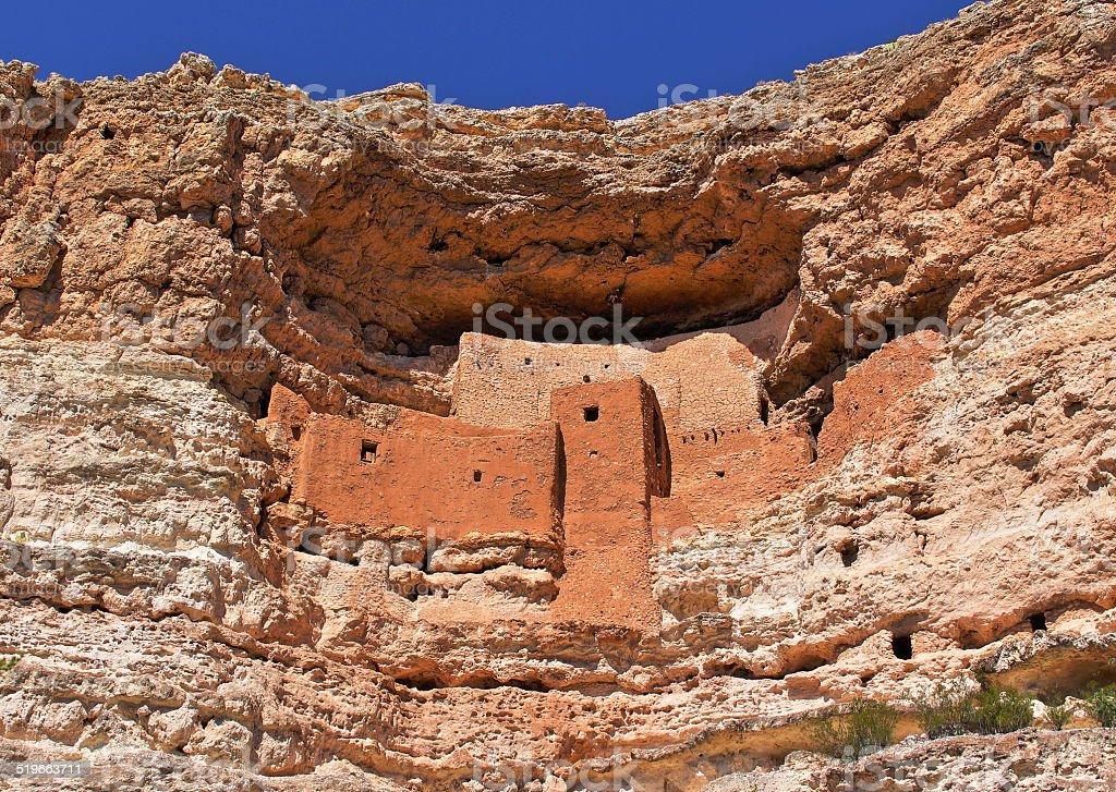 Montezuma Castle stock photo