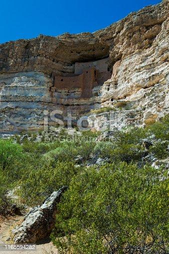 Montezuma Castle Ruins at Montezuma Castle National Monument in Arizona, USA.