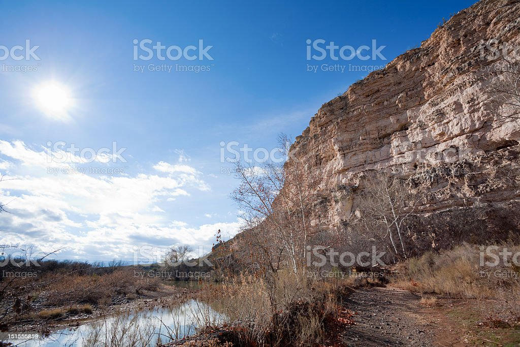 Montezuma National Park stock photo
