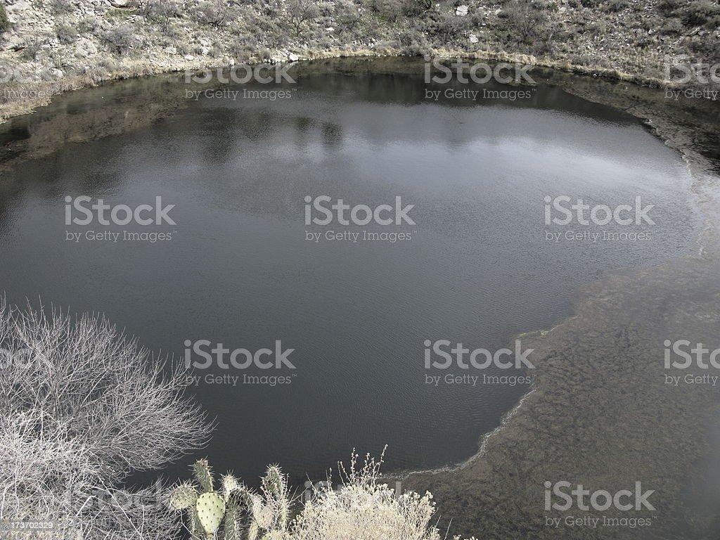Montezuma Water Well Irrigation stock photo