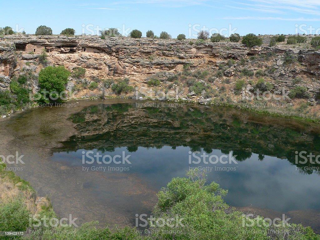 Montezuma Well stock photo