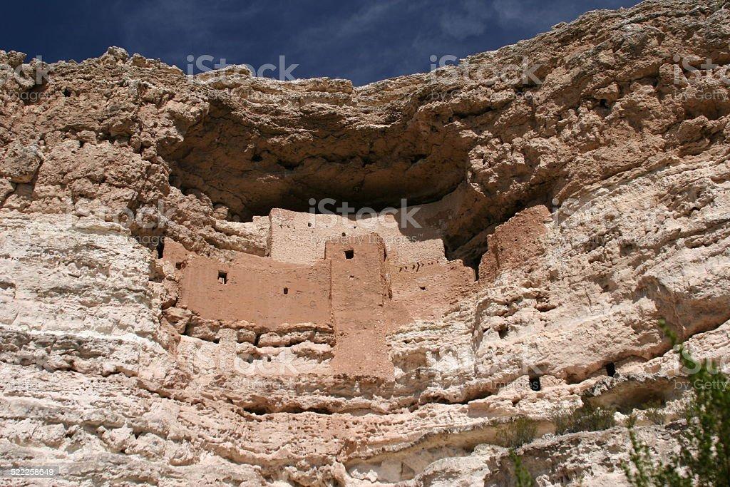 Montezuma's Castle stock photo