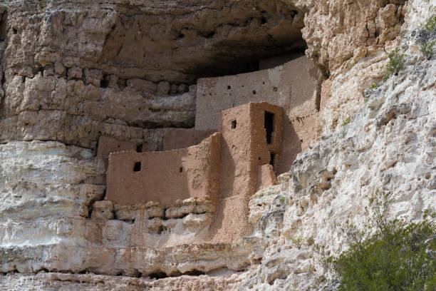 montezumas castle - hopi stock photos and pictures